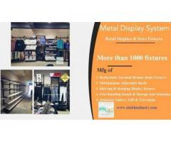 INR 7000 / Readymade Garments Display Racks Manufacturer In Ahmedabad
